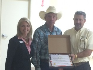 Kinder Chamber of Commerce 2015 Farmer/Rancher of the Year